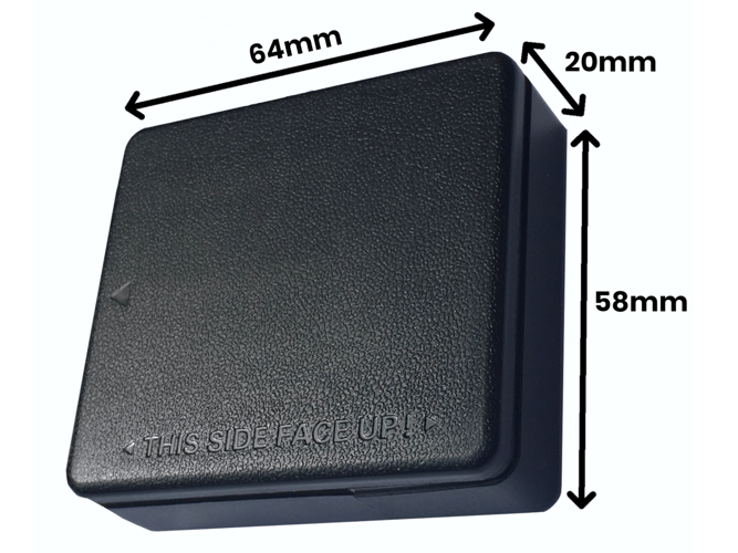 GPS tracker with a strong magnet