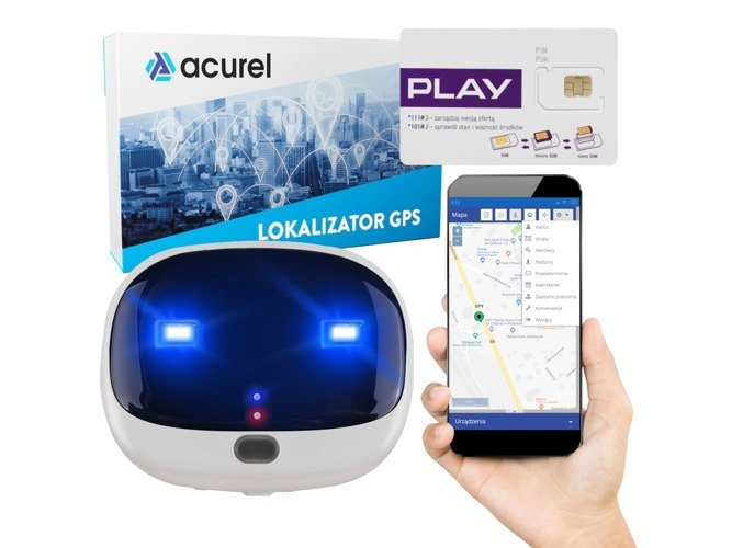 Pet locator dog cat + Play card + GPS Acurel 1 year