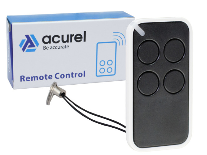Universal 4-Channel 433 MHz Remote Control in 4 colors- KR30