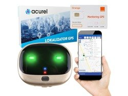Pet locator dog cat + Orange card + GPS Acurel 1 year