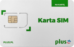 Karta Plus - na rok 30GB - 15zł